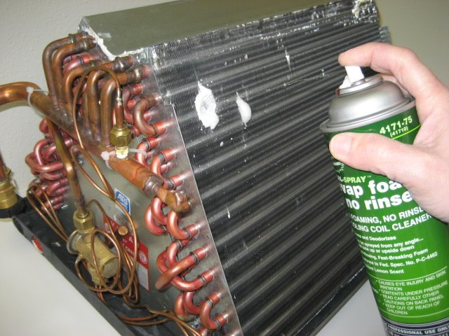 Evaporator Coil Cleaner Pur Vent Hvac Cleaning And